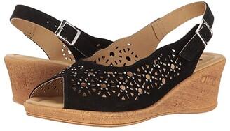 Spring Step Saibara (Black) Women's Shoes