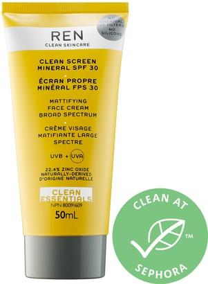 Ren Skincare Clean Screen Mineral SPF 30