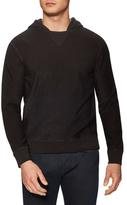 Jil Sander Ribbed Hooded Sweatshirt