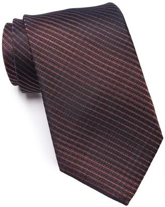 John Varvatos Stripe Print Tie