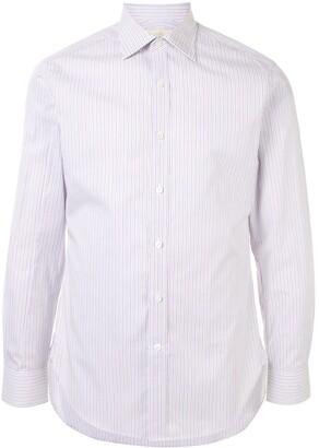 Kent & Curwen Striped Long-Sleeved Shirt