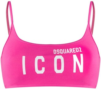DSQUARED2 Icon sports bra