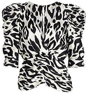 Ronny Kobo Women's Liliana Leopard Print Top