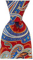 Daniel Cremieux Paisley Printed Traditional Silk Tie