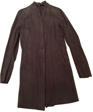 Isaac Sellam Anthracite Suede Jacket for Women