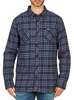 Rip Curl OBSESSED CHECK FLANNEL L/S SHIRT Blue