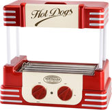 Nostalgia Electrics Nostalgia RHD800 Retro Series Hot Dog Roller with Bun Warmer