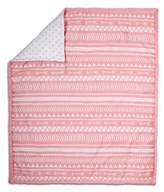 The Peanut Shell Tribal Quilt in Coral