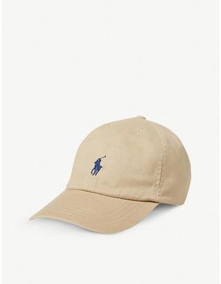 Ralph Lauren Kids logo-embroidered cotton baseball cap