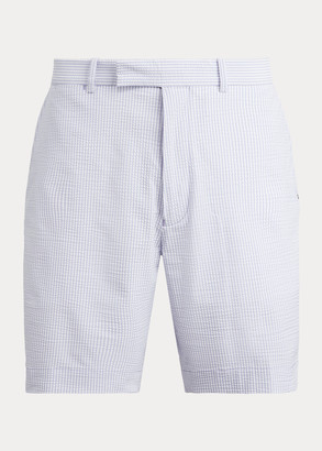 Ralph Lauren Classic Fit Seersucker Short