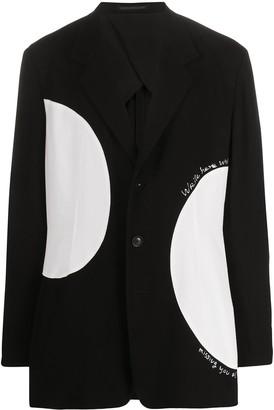 Yohji Yamamoto Color-Block Blazer