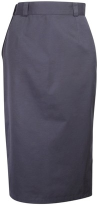 Gianni Versace Black Cotton Skirt for Women Vintage