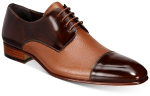 Mezlan Men's Lecce Deerskin Two-Tone Oxfords Men's Shoes
