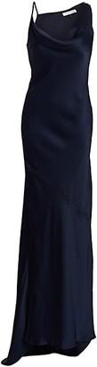 Halston Satin Slip Gown