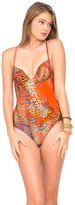 Luli Fama Wanderlust Chic Underwire 1 Piece in Multicolor (L452779)