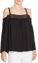 Rebecca Minkoff Sirena Cold-Shoulder Top