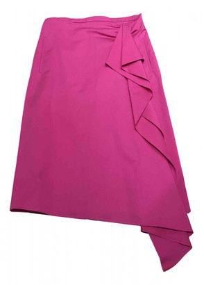 Rochas Pink Cotton Skirts