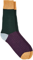 Corgi Men's Colorblocked Crew Socks