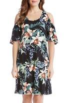 Karen Kane Orchid Cold Shoulder Dress