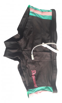 DSQUARED2 Brown Cotton - elasthane Swimwear