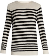 Vince Striped wool-blend sweater