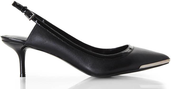 Enzo Angiolini Black Garrac Kitten Heels