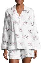 BedHead Exclusive Glamping Long-Sleeve Shortie Pajama Set, White Pattern