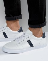 Asos Retro Trainers In White With Chunky Sole