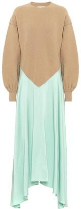 J.W.Anderson Wool-blend maxi dress