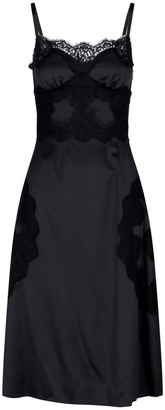 Dolce & Gabbana Lace-Trim Dress