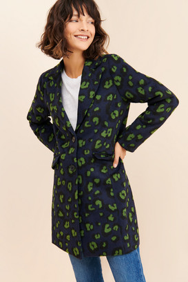 ModCloth Spotted All Over Coat