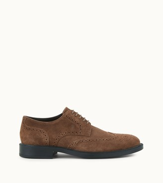 Tod's Lace-up in Suede