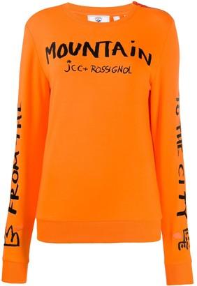 Rossignol JC de Castelbajac Women JCC sweatshirt