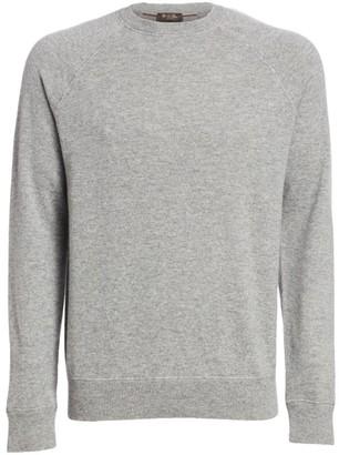 Loro Piana Silverstone Cashmere Crewneck Sweater