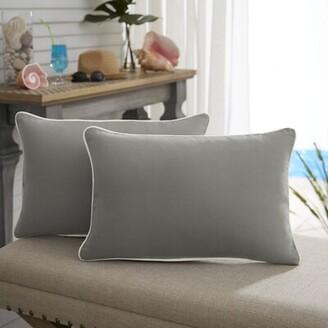 Beachcrest Home Saechao Indoor/ Outdoor Lumbar Pillow