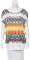 M Missoni Knit Chevron Top w/ Tags