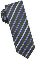 Perry Ellis Striped Silk Tie