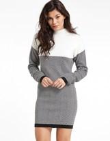Morgan Colour Block Knitted Dress