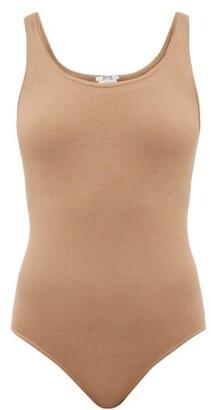 Wolford Jamaika String Sleeveless Bodysuit - Brown