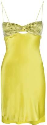 Alessandra Rich stone embellished dress