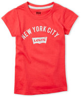 Levi's Girls 4-6x) New York City Tee