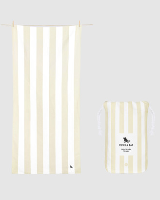 Dock & Bay Large Beach Towel 100% Recycled Cabana Light Collection