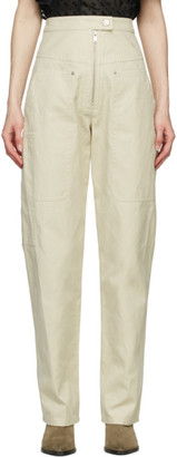 Etoile Isabel Marant Off-White Phil Trousers