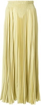 Valentino pleated maxi skirt