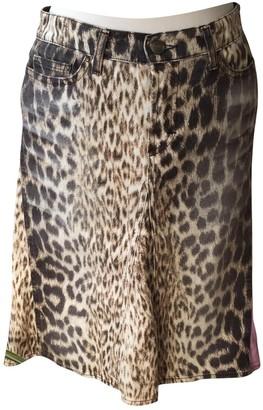 Just Cavalli Brown Denim - Jeans Skirt for Women