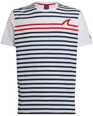 Paul & Shark Striped Cotton T-Shirt