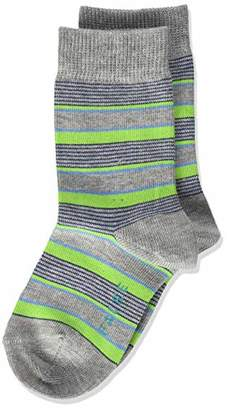 Falke Boy's Mixed Stripe Calf Socks