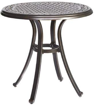 Canora Grey Stanford Patio Cast Aluminum Dining Table Canora Grey