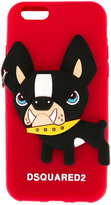 DSQUARED2 dog iPhone 6 case - men - Silicone - One Size