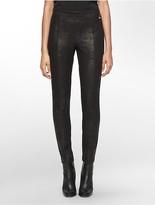 Calvin Klein Embossed Ponte Knit Leggings